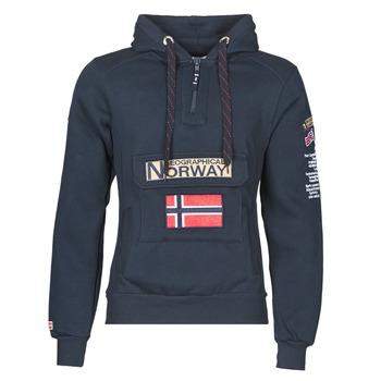Abbigliamento Uomo Felpe Geographical Norway GYMCLASS Marine