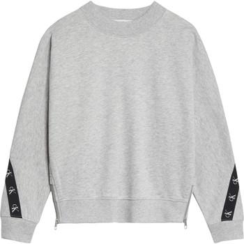 Abbigliamento Bambina Felpe Calvin Klein Jeans IG0IG00687-PZ2 Grigio