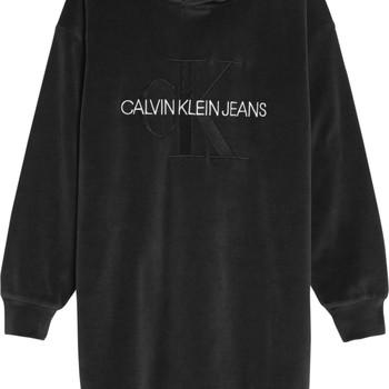 Abbigliamento Bambina Abiti corti Calvin Klein Jeans IG0IG00711-BEH Nero