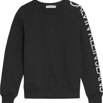 Abbigliamento Bambina Felpe Calvin Klein Jeans IG0IG00691-BEH Nero
