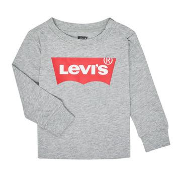 Abbigliamento Bambino T-shirts a maniche lunghe Levi's BATWING TEE LS Grigio