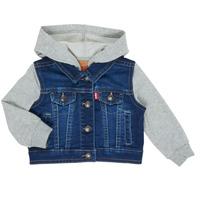 Abbigliamento Bambino Giacche in jeans Levi's INDIGO JACKET Blu