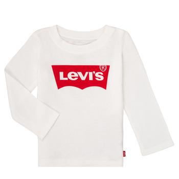 Abbigliamento Bambina T-shirts a maniche lunghe Levi's BATWING TEE LS Bianco