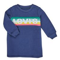 Abbigliamento Bambina Abiti corti Levi's SWEATSHIRT DRESS Blu