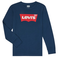 Abbigliamento Bambino T-shirts a maniche lunghe Levi's BATWING TEE LS Blu