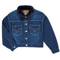 Abbigliamento Bambina Giacche in jeans Levi's OVERSIZED TRUCKER Thames