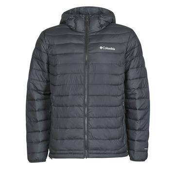 Abbigliamento Uomo Piumini Columbia POWDER LITE HOODED JACKET Nero