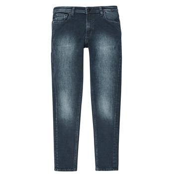 Abbigliamento Bambino Jeans slim Jack & Jones JJILIAM Blu