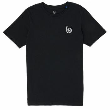 Abbigliamento Bambino T-shirt maniche corte Jack & Jones JJAARHUS TEE Nero