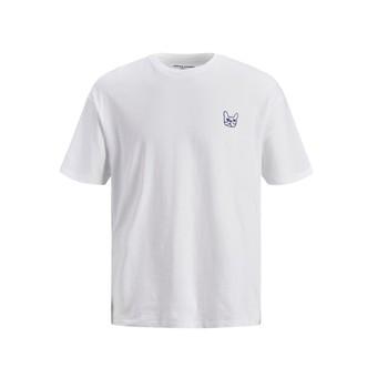 Abbigliamento Bambino T-shirt maniche corte Jack & Jones JJAARHUS TEE Bianco