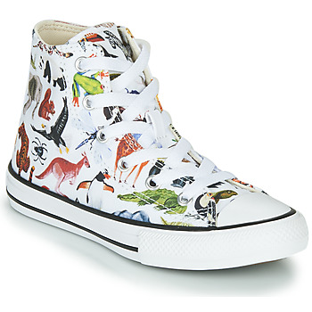 Scarpe Unisex bambino Sneakers alte Converse Chuck Taylor All Star - Science Class Bianco / Multicolore