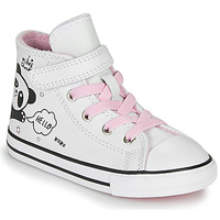Scarpe Bambina Sneakers alte Converse CHUCK TAYLOR ALL STAR 1V - NOTES FROM BFF Bianco
