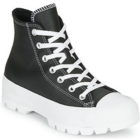 Scarpe Donna Sneakers alte Converse Chuck Taylor All Star Lugged - Foundational Leather Nero
