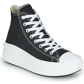 Scarpe Donna Sneakers alte Converse Chuck Taylor All Star Move Canvas Color Hi Nero