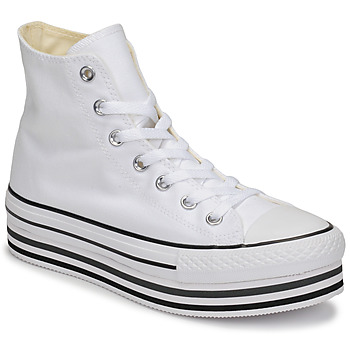 Scarpe Donna Sneakers alte Converse CHUCK TAYLOR ALL STAR PLATFORM EVA LAYER CANVAS HI Bianco