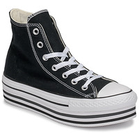 Scarpe Donna Sneakers alte Converse CHUCK TAYLOR ALL STAR PLATFORM EVA LAYER CANVAS HI Nero