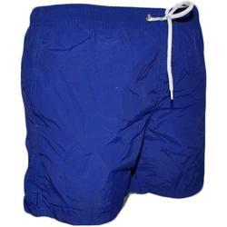 Abbigliamento Uomo Costume / Bermuda da spiaggia Malu Shoes Costume uomo boxer fantasia basic rete interna modello pantalon BLU