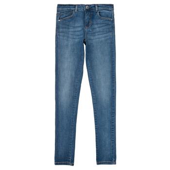 Abbigliamento Bambina Jeans slim Only KONRACHEL Blu