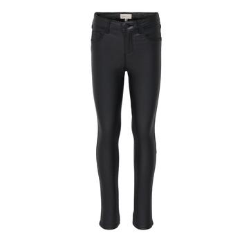 Abbigliamento Bambina Jeans slim Only KONROYAL Nero
