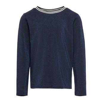 Abbigliamento Bambina T-shirts a maniche lunghe Only KONATHEA Marine