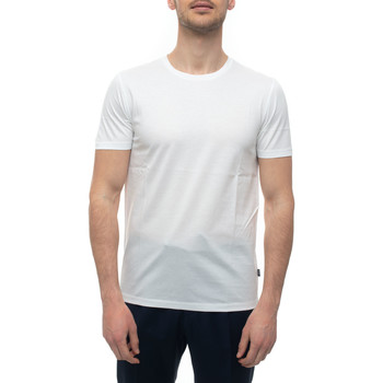 Abbigliamento Uomo T-shirt maniche corte Hugo Boss TESSLER100-50383822100 Bianco