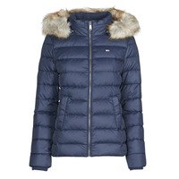 Abbigliamento Donna Piumini Tommy Jeans TJW BASIC HOODED DOWN JACKET Marine