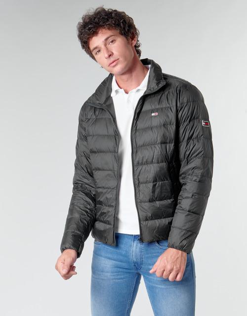 Abbigliamento Uomo Piumini Tommy Jeans TJM PACKABLE LIGHT DOWN JACKET Nero