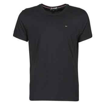Abbigliamento Uomo T-shirt maniche corte Tommy Jeans TJM ORIGINAL JERSEY TEE Nero