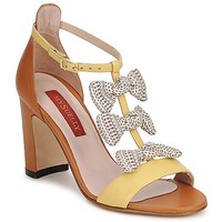 Scarpe Donna Sandali MySuelly NOE Giallo / Marrone