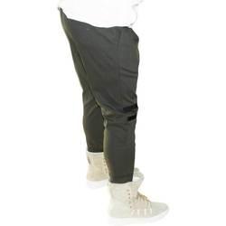 Abbigliamento Uomo Pantalone Cargo Malu Shoes Pantaloni jogger verdi uomo con elastico e coulisse e tasche la VERDE