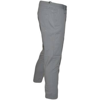 Abbigliamento Uomo Pantaloni 5 tasche Malu Shoes Pantaloni Uomo Slim Fit Casual Eleganti in Cotone grigio tasch GRIGIO