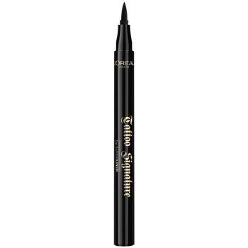 Bellezza Donna Matia per occhi L'oréal Tattoo Signature Superliner 01-black 4,5 g