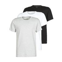 Abbigliamento Uomo T-shirt maniche corte Calvin Klein Jeans CREW NECK 3PACK Grigio / Nero / Bianco