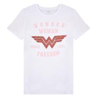 Abbigliamento Bambina T-shirt maniche corte Name it NKFWONDERWOMEN Bianco