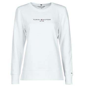 Abbigliamento Donna Felpe Tommy Hilfiger TH ESS HILFIGER C-NK SWEATSHIRT Bianco