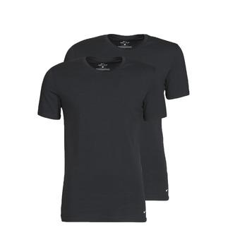 Abbigliamento Uomo T-shirt maniche corte Nike EVERYDAY COTTON STRETCH Nero