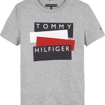 Abbigliamento Bambino T-shirt maniche corte Tommy Hilfiger KB0KB05849-P6U Grigio