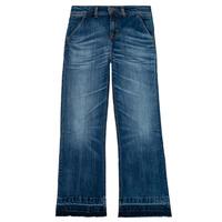 Abbigliamento Bambina Jeans bootcut Tommy Hilfiger KG0KG05199-1BJ Blu
