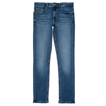 Abbigliamento Bambino Jeans slim Tommy Hilfiger SCANTON SLIM Blu
