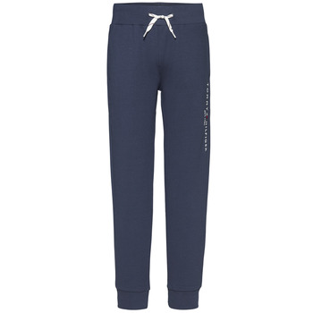 Abbigliamento Bambino Pantaloni da tuta Tommy Hilfiger KB0KB05864-C87 Marine