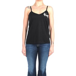 Abbigliamento Donna Top / T-shirt senza maniche 5preview AMY W116 Black