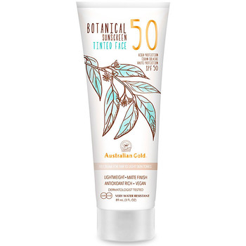 Bellezza Protezione solari Australian Gold Botanical Spf50 Tinted Face fair-light  88 ml