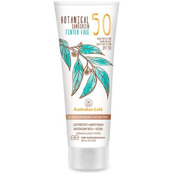 Bellezza Protezione solari Australian Gold Botanical Spf50 Tinted Face medium-tan  88 ml