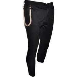 Abbigliamento Uomo Chino Malu Shoes Pantalone Uomo Tinta Unita Panta Tuta Nero Tasca America Cavall NERO