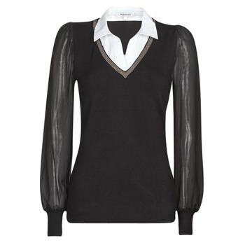 Abbigliamento Donna Maglioni Morgan MVANI Nero