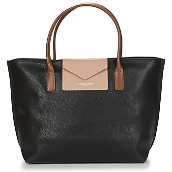 Borse Donna Tote bag / Borsa shopping LANCASTER MAYA Nero