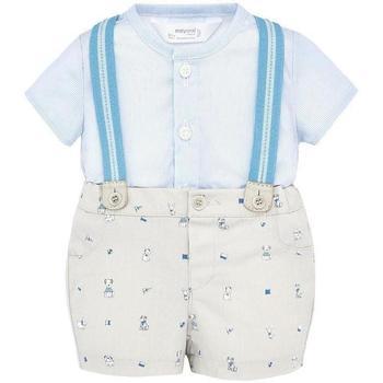 Abbigliamento Bambino Completo Mayoral ATRMPN-18967 Grigio
