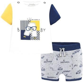 Abbigliamento Unisex bambino Completo Mayoral ATRMPN-18968 Blu