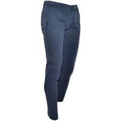 Abbigliamento Uomo Jeans slim Malu Shoes Pantalone moda uomo blu vintage cotone chino elastico colori va BLU