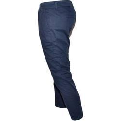 Abbigliamento Uomo Jeans dritti Malu Shoes Pantalone uomo blu sky in cotone lunghezza chino elastico color BLU
